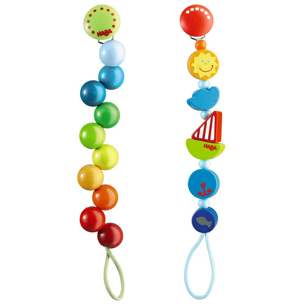 Haba 174 Wooden Pacifier Chains Creative Kidstuff