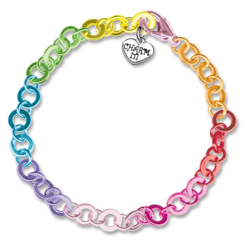 charm it 174 rainbow chain bracelet creative kidstuff