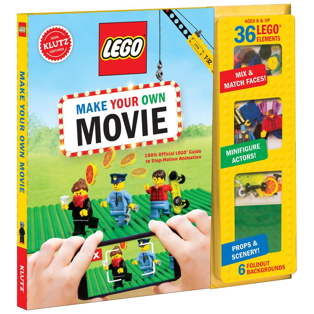 Klutz Lego Make Your Own Movie Kit The Animal Rescue Site