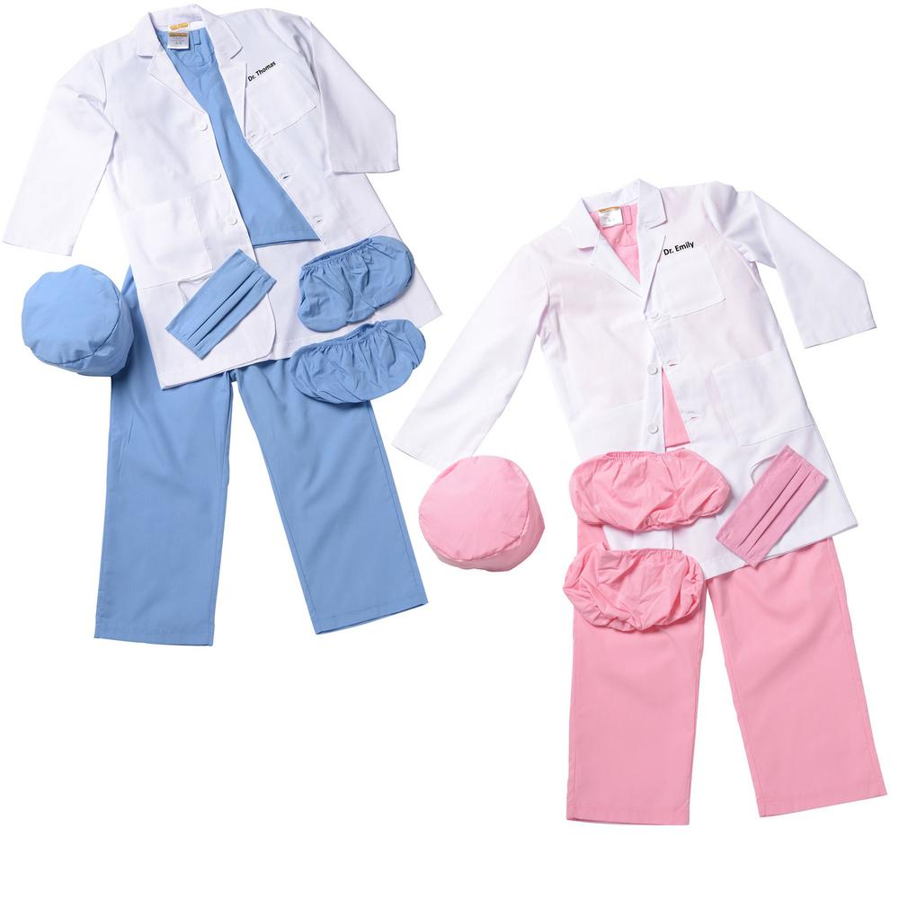 f817bef49be Jr. Physician Scrubs - Personalized : Creative Kidstuff