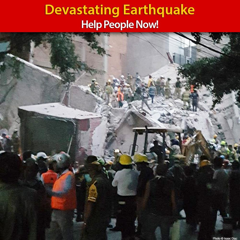 7.1 Earthquake Hits Mexico - Help People Now!