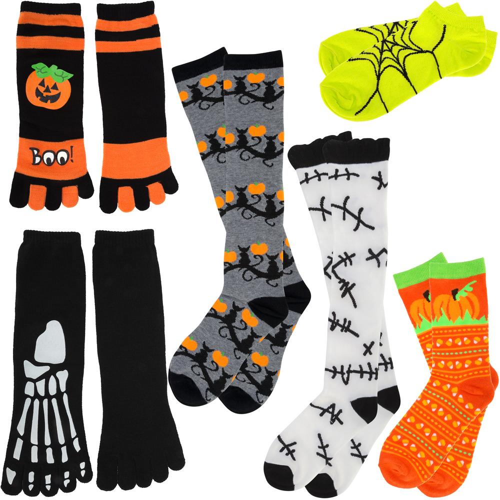 Spooky Halloween Socks Collection : The Animal Rescue Site