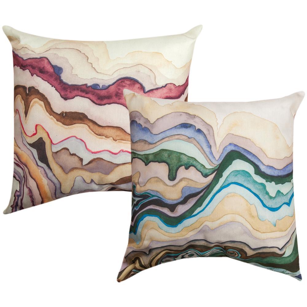 Reversible Animal Pillow : Quartz Lore Reversible Indoor/Outdoor Throw Pillow : The Animal Rescue Site