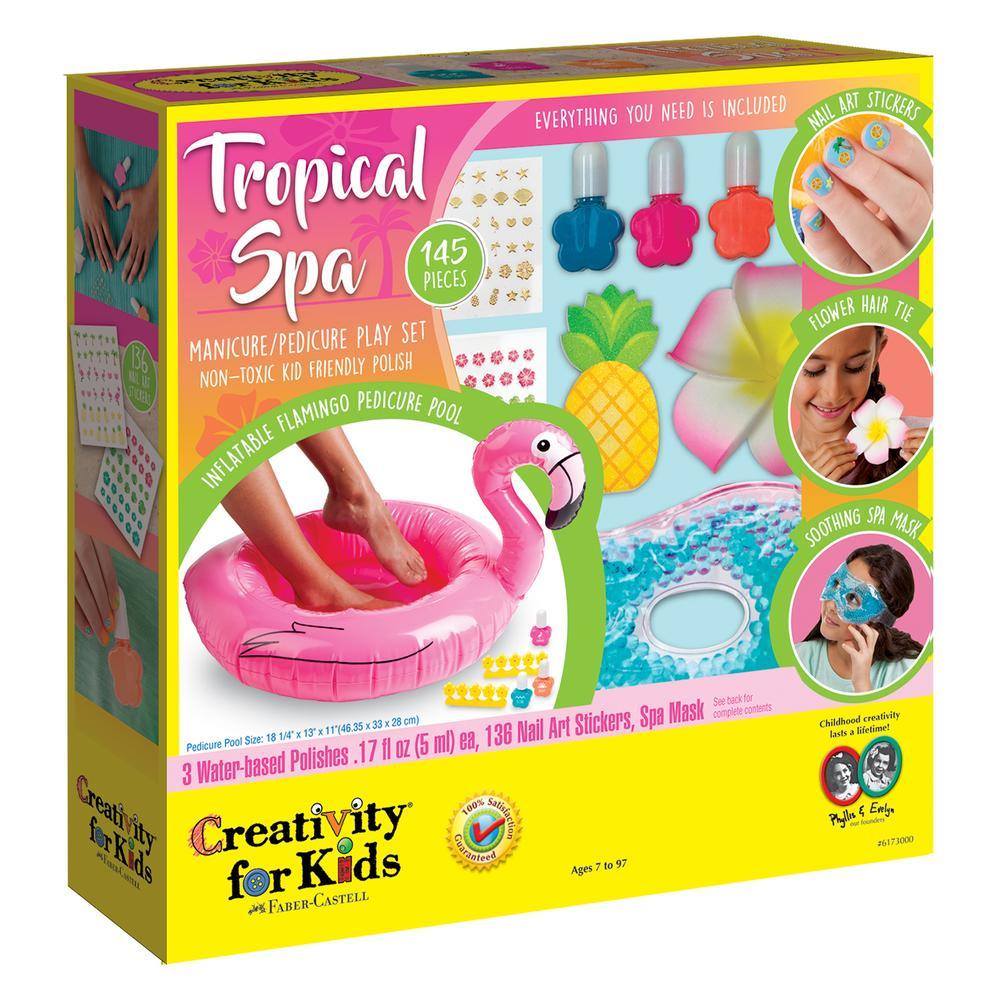 Tropical Spa Kit : Creative Kidstuff
