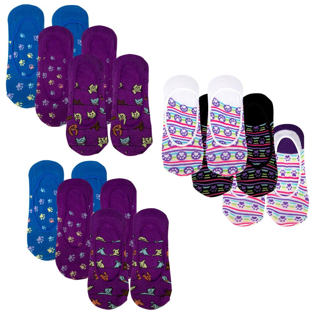 9894b51045245b Paws Galore™ No-Show Socks Set   The Breast Cancer Site