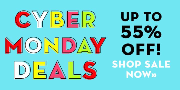 Cyber Monday - Shop Now