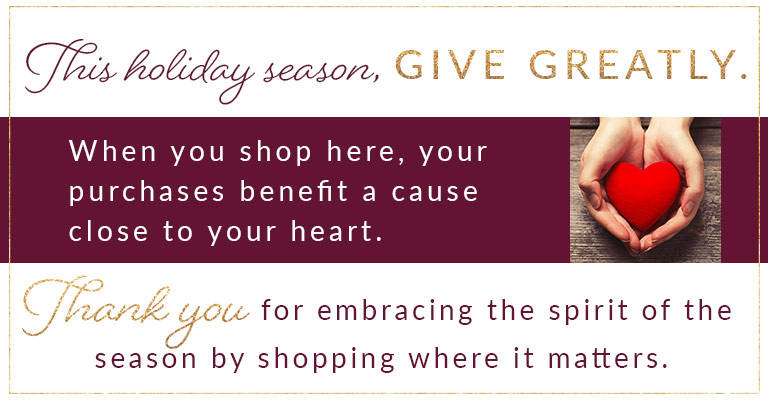 Giving Tuesday - Shop Now